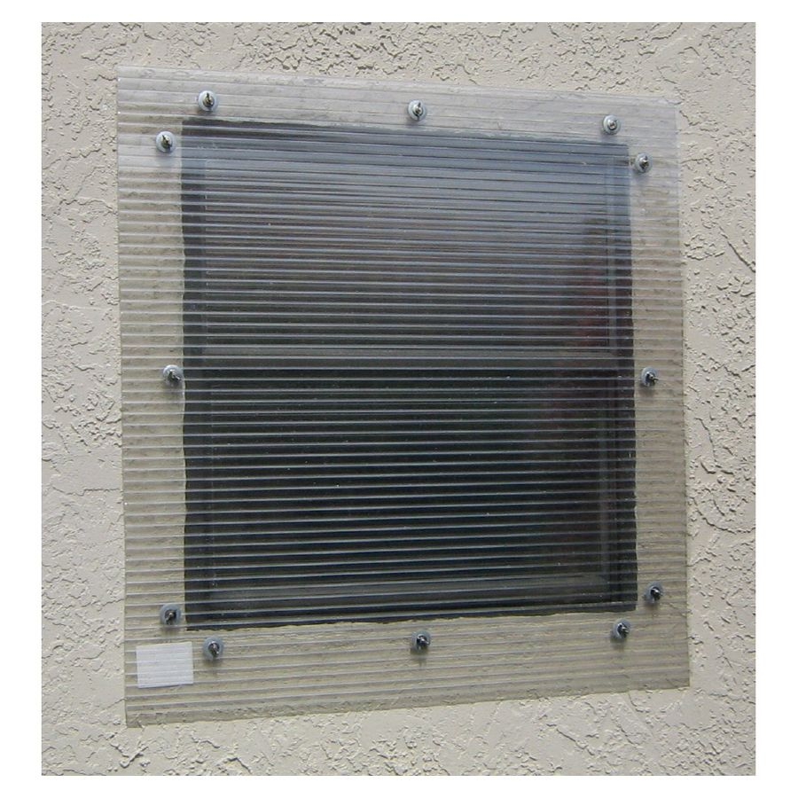 Storm Busters 48 In X 72 In Clear Polycarbonate Hurricane Shutters