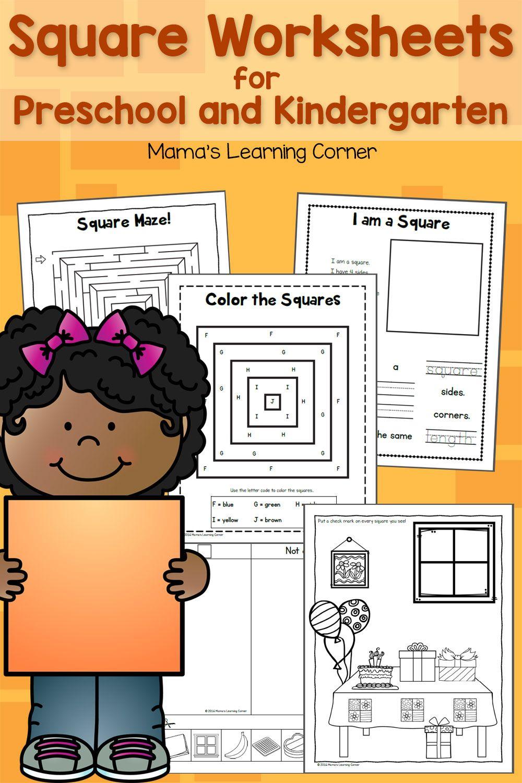 Download A 10 Page Set Of Square Worksheets For Your Preschooler Of Kindergartner Features Shape Activities Preschool Preschool Alphabet Printables Preschool [ 1500 x 1000 Pixel ]