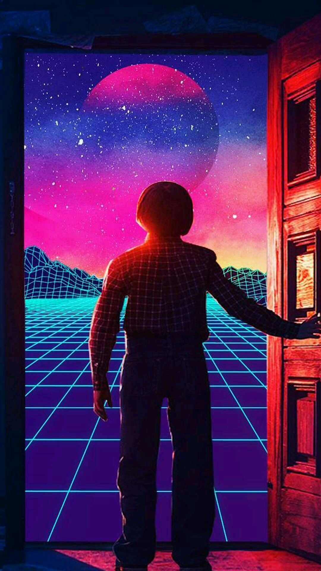 Pin by Ff on Wall-P | Stranger things aesthetic, Vaporwave ...