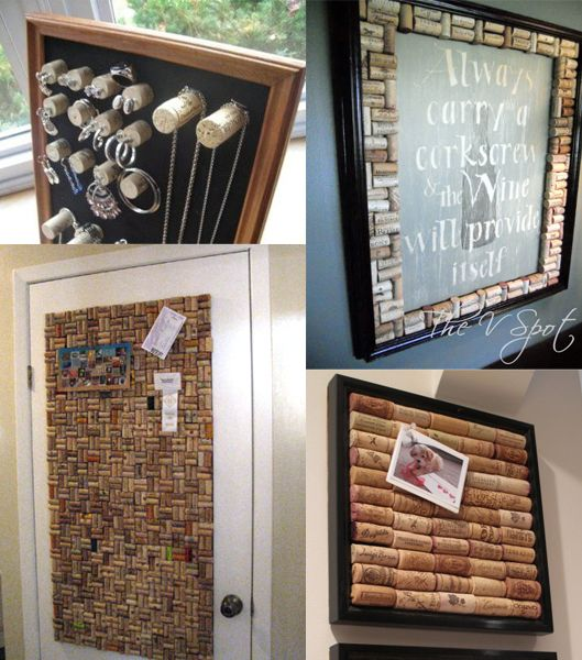 Omg I love most of these. I need more wine corks!