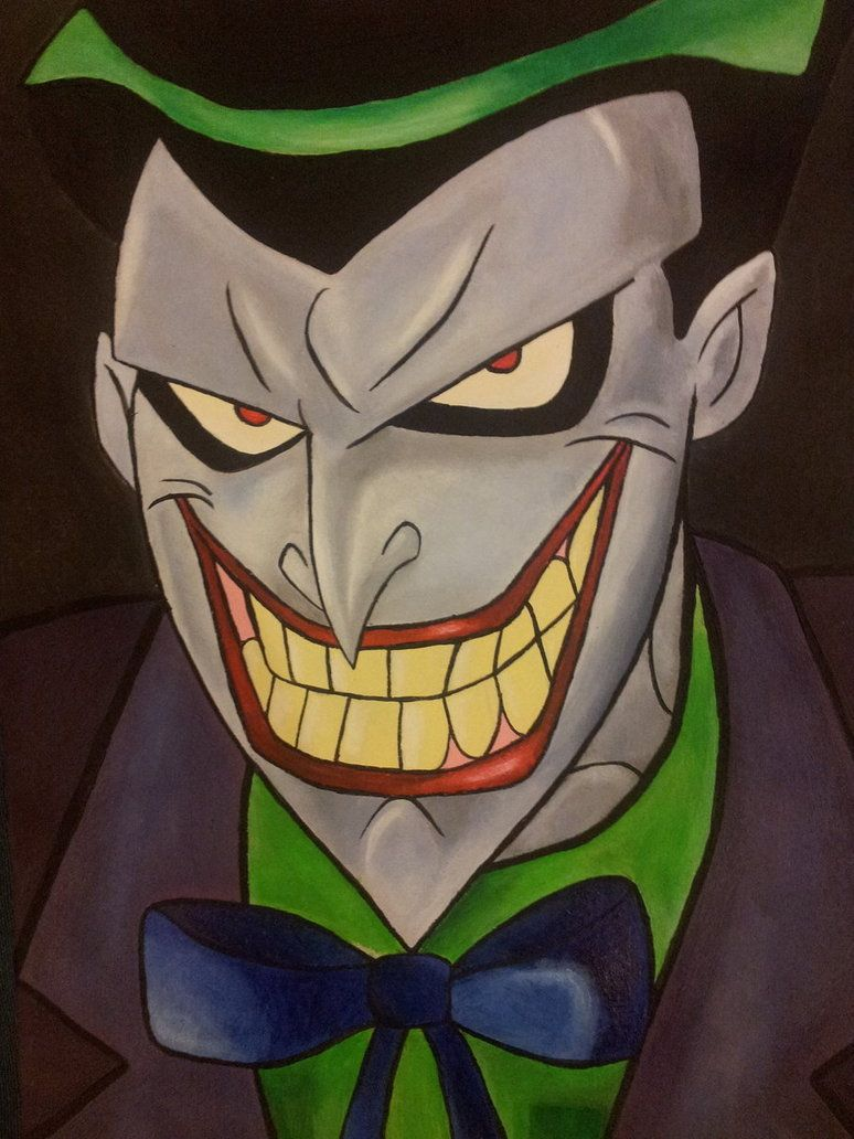 The Joker from Batman: The Animated Series by Annashipway