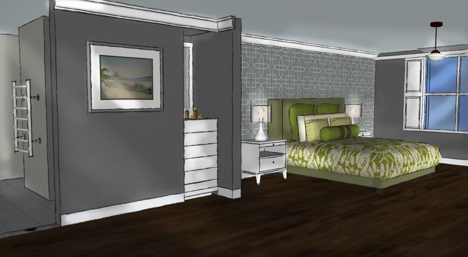 Bedroom dressing room ensuite ideas google search for Ensuite ideas
