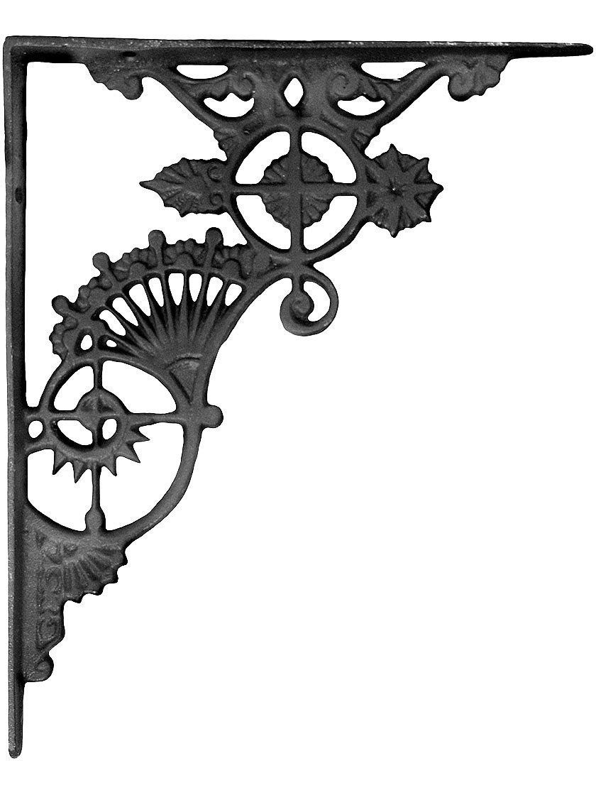 Amazon Com Ornate Cast Iron Shelf Bracket 11 Quot X 9