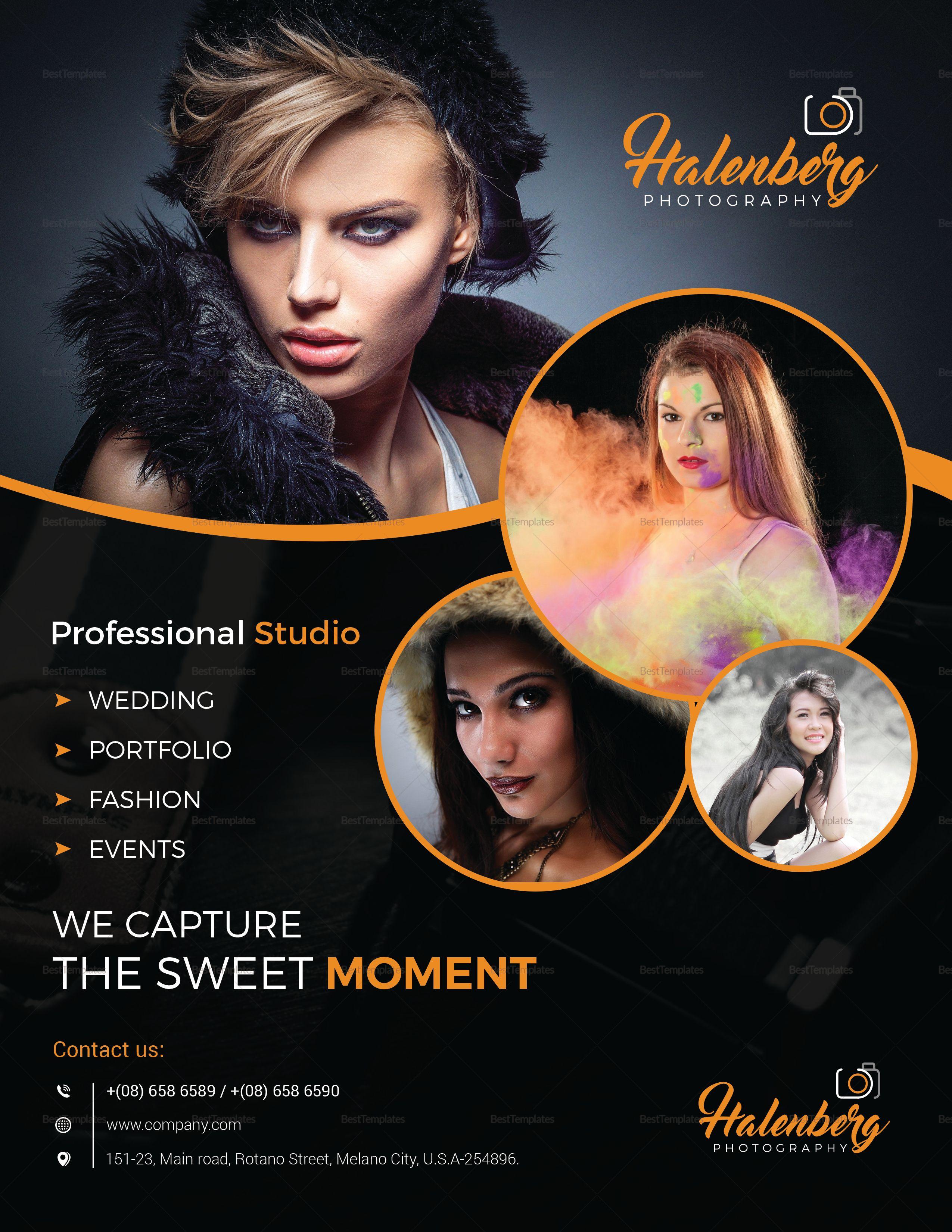 Professional Custom Design Photography Flyer Template ...