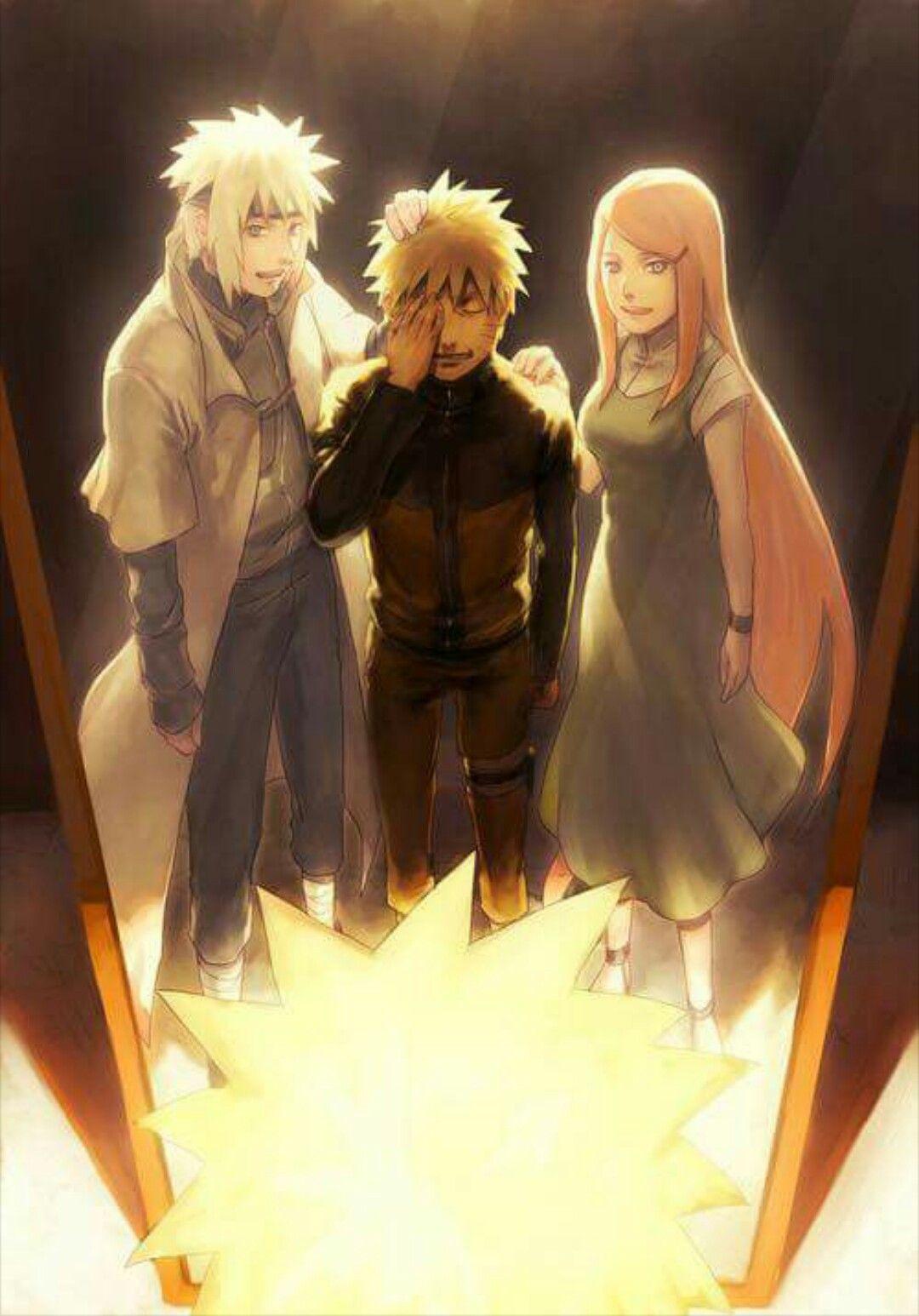 Naruto Shippuuden ~ Uzumaki Family - Uzumaki Naruto/Namikaze Minato/Uzumaki Kushina