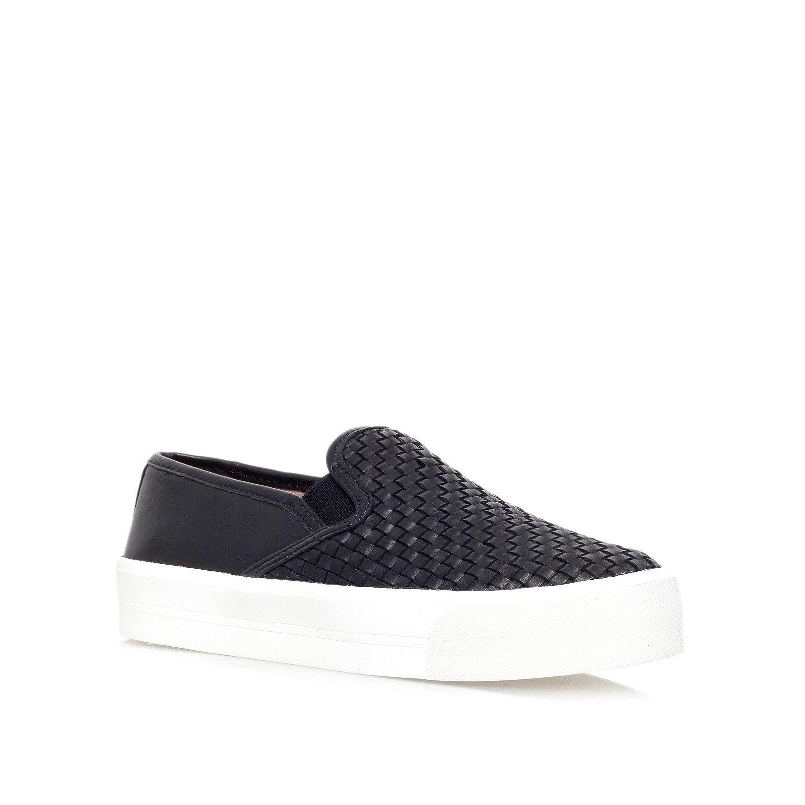 Zapatos negros casual Dalliy para mujer kanHeDp