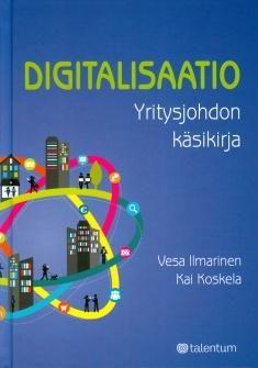 Kuvaus: Digitalisaatio on aikakautemme suurin muutosvoima. Se luo suomalaisille yrityksille paljon mahdollisuuksia kasvaa, tehostaa ja uudistua. Kirja auttaa yritysjohtajia ymmärtämään digitalisaation mahdollisuudet, löytämään omaan liiketoimintaan sopivat keinot ja toteuttamaan mahdollisuudet. Kokeneet liiketoiminnan digitalisoinnin ammattilaiset tarjoavat kokonaisvaltaisen näkymän digitalisaatioon omia kokemuksiaan ja kymmeniä suomalaisia case-esimerkkejä hyödyntäen.