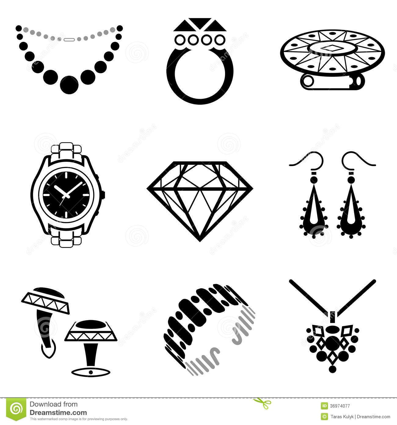 luxury industry. Qualitative vector (EPS-10) symbols about ...