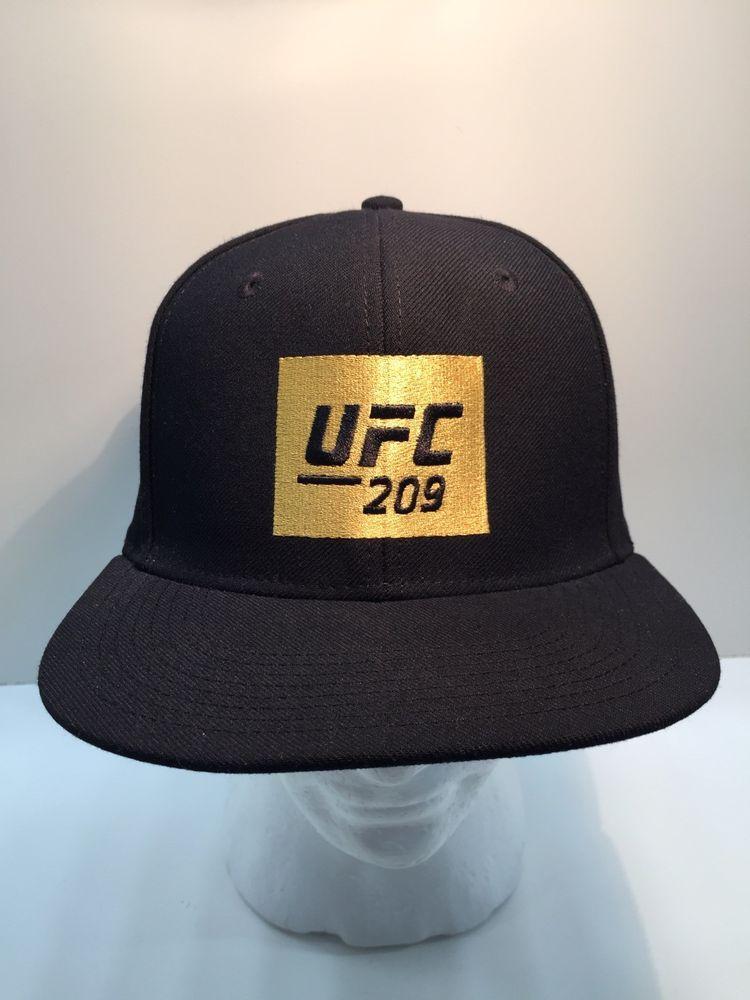 5776a08819d UFC 209 REEBOK HAT CAP SNAPBACK BLACK  fashion  clothing  shoes  accessories   mensaccessories  hats (ebay link)