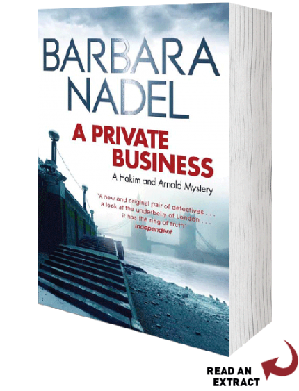 Barbara Nadel's new book!