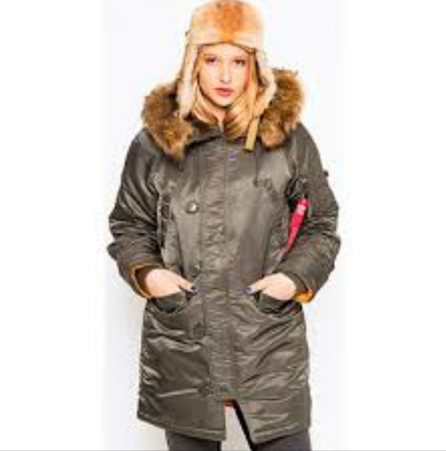 Vintage parka jacket womens