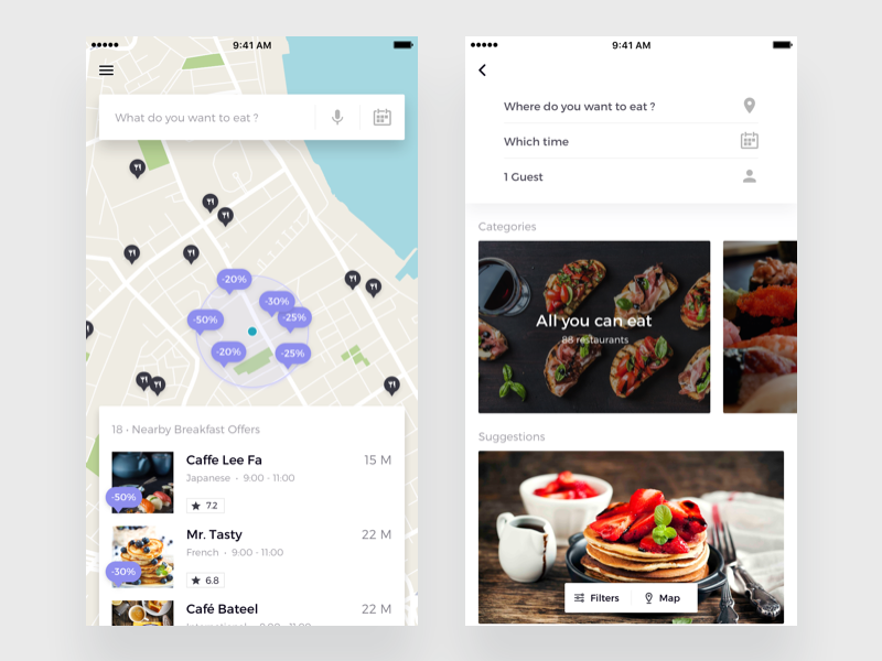 Table Reservation App Mobile UI Examples Pinterest Ui Ux Ui - Restaurant table reservation app