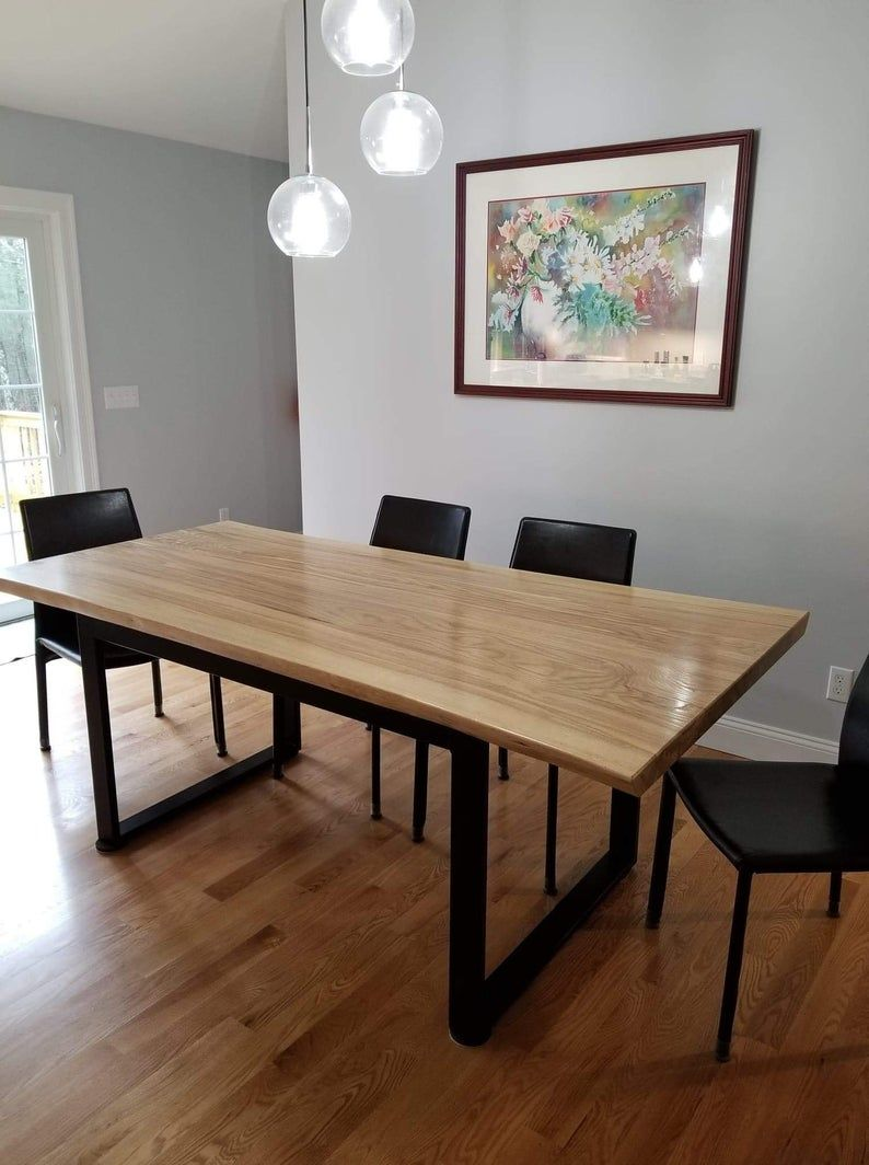 Live Edge Dining Room Table Live Edge Table Dining Rooms Live