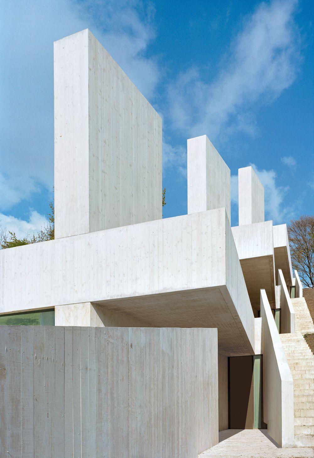 Drei Terrassenhäuser / Daniele Marques Architekt | Arquitectura ...