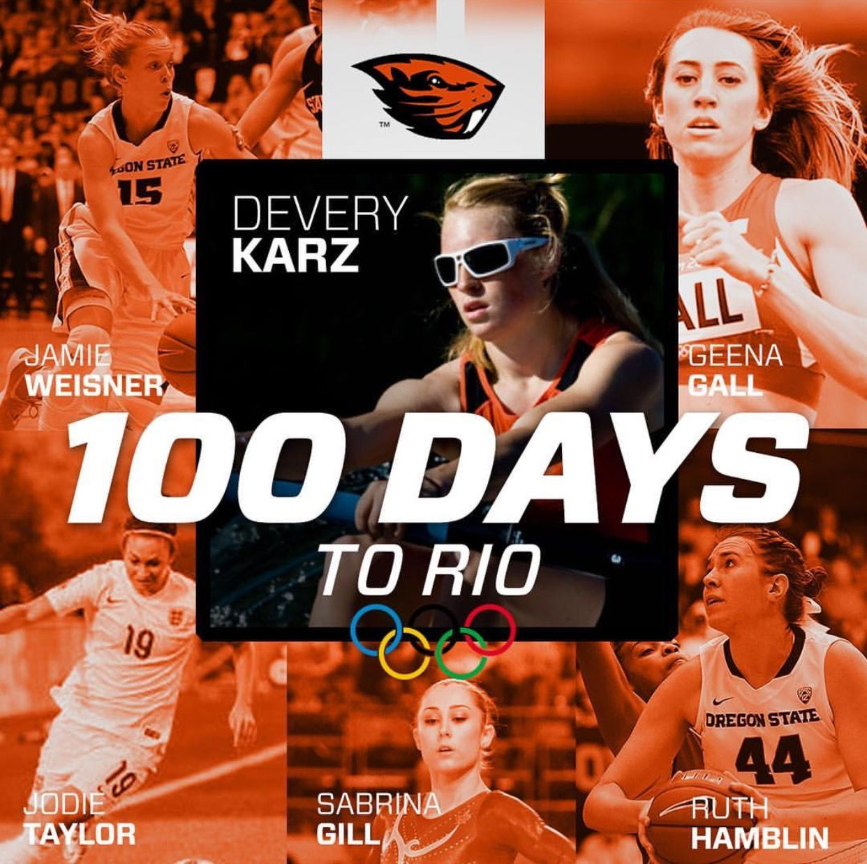 Oregon State Olympic sports