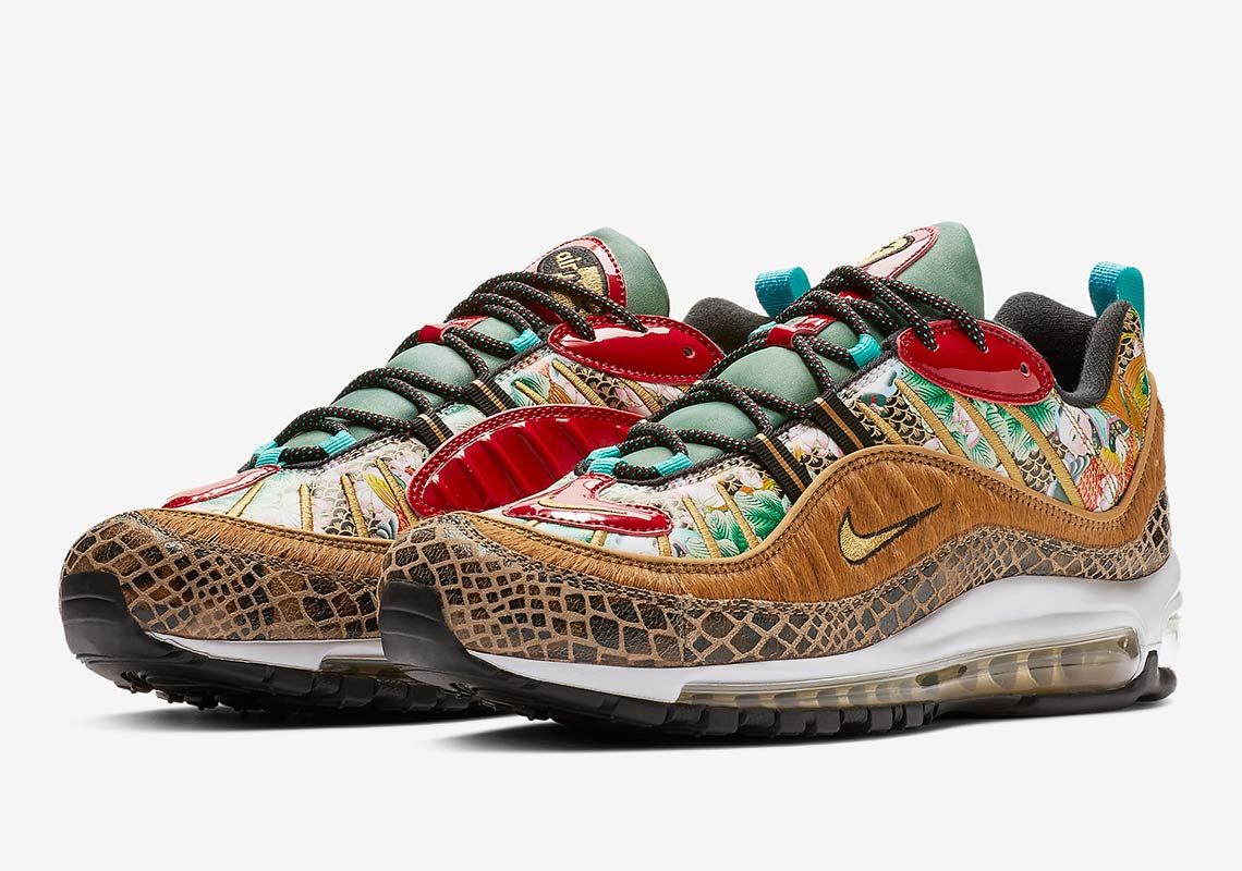 super popular cd3b9 ead49 Nike Air Max 98 Chinese New Year CNY BV6649-708   SneakerNews.com
