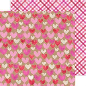 BGPayne Crafts. Doodlebug Sweetheart Hopelessly Devoted Double-sided