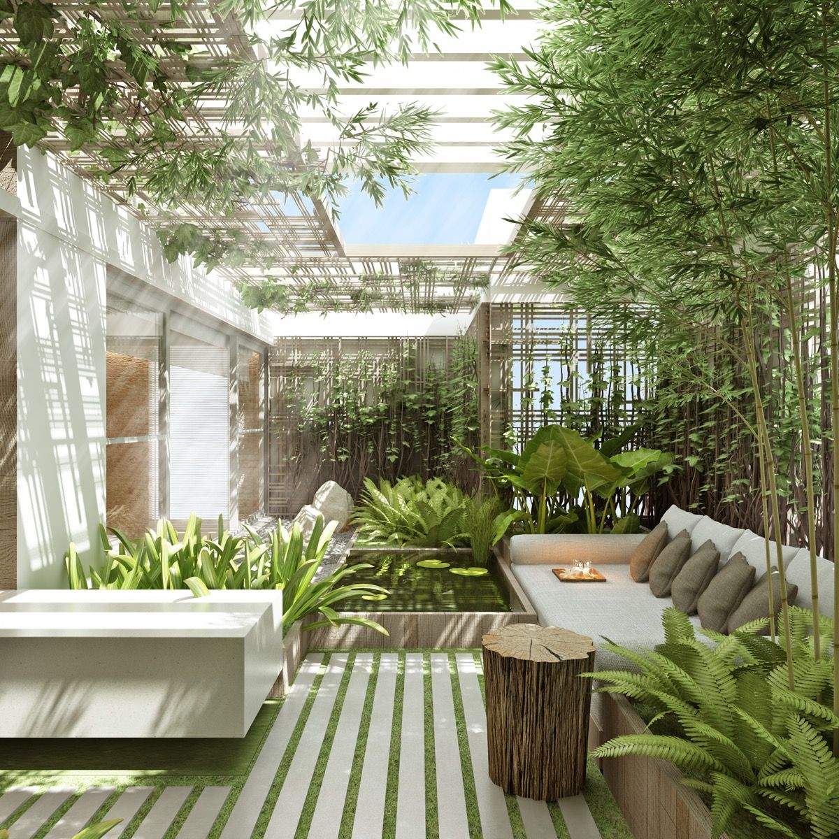 51 captivating courtyard designs that make us go wow on backyard landscape architecture inspirations id=15885