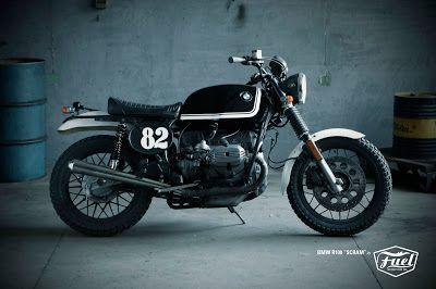 """BMW R100 """"Scram"""" by Fuel"""