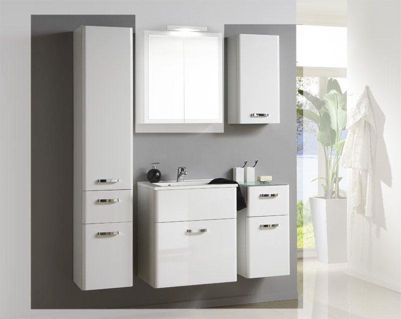 Badezimmer Komplettset ~ Badezimmer set in hochglanz weiß 4 teilig jetzt bestellen unter
