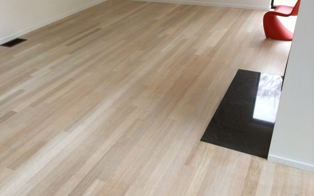 how to change the color of brazilian cherry flooring