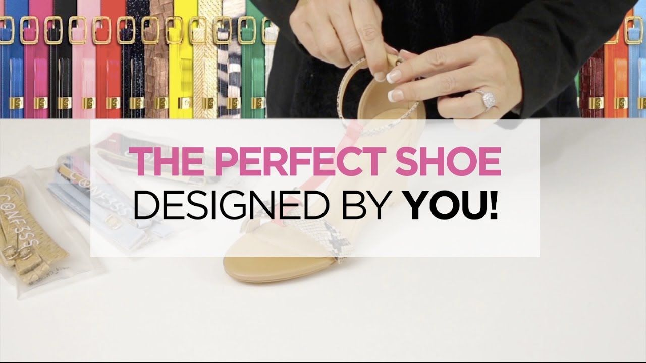 Conf3ss - The perfect shoe designed by you!