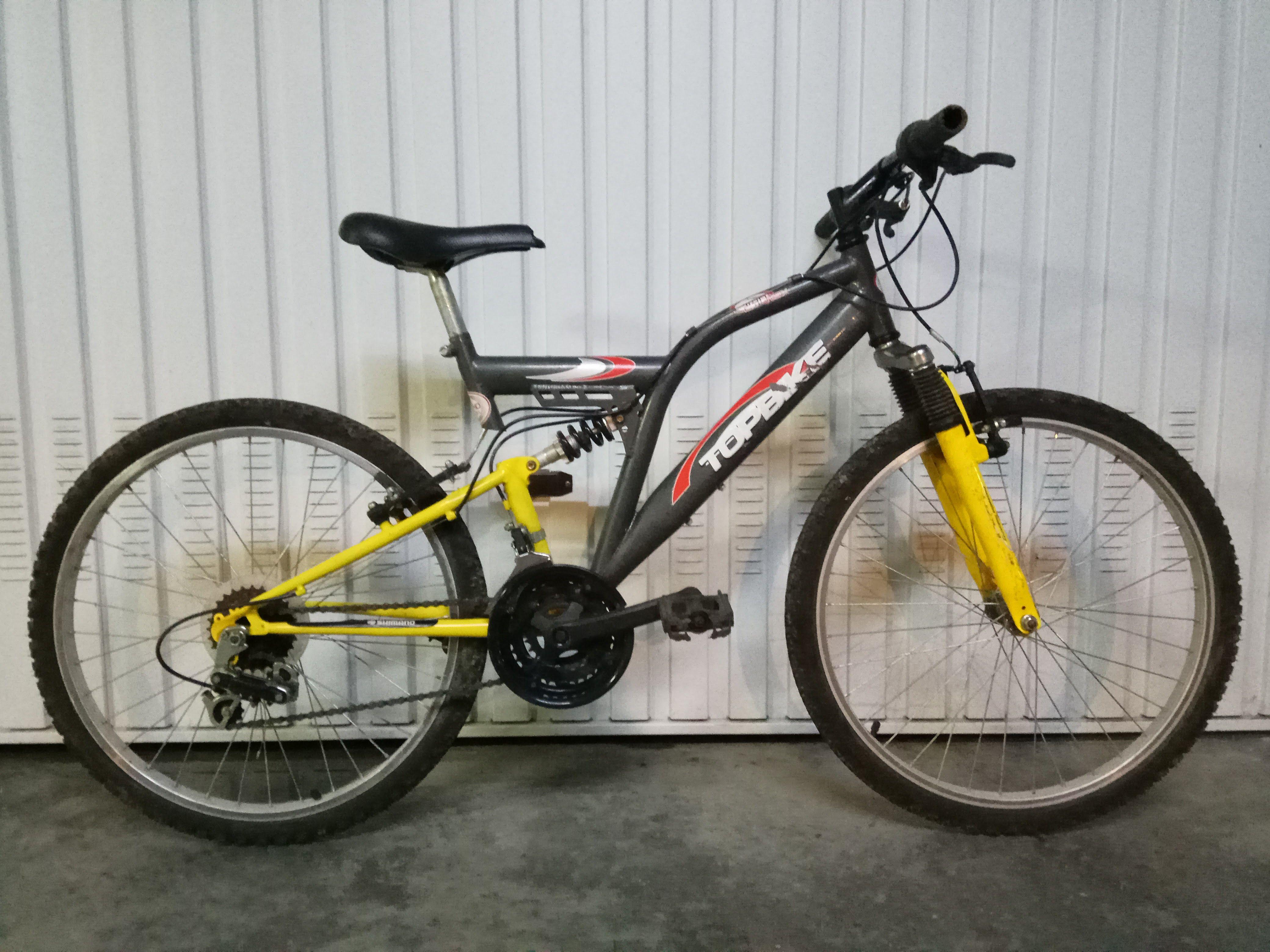 Bicicleta Juvenil con Amortiguadores 80€ MARCA: Topbike MODELO ...