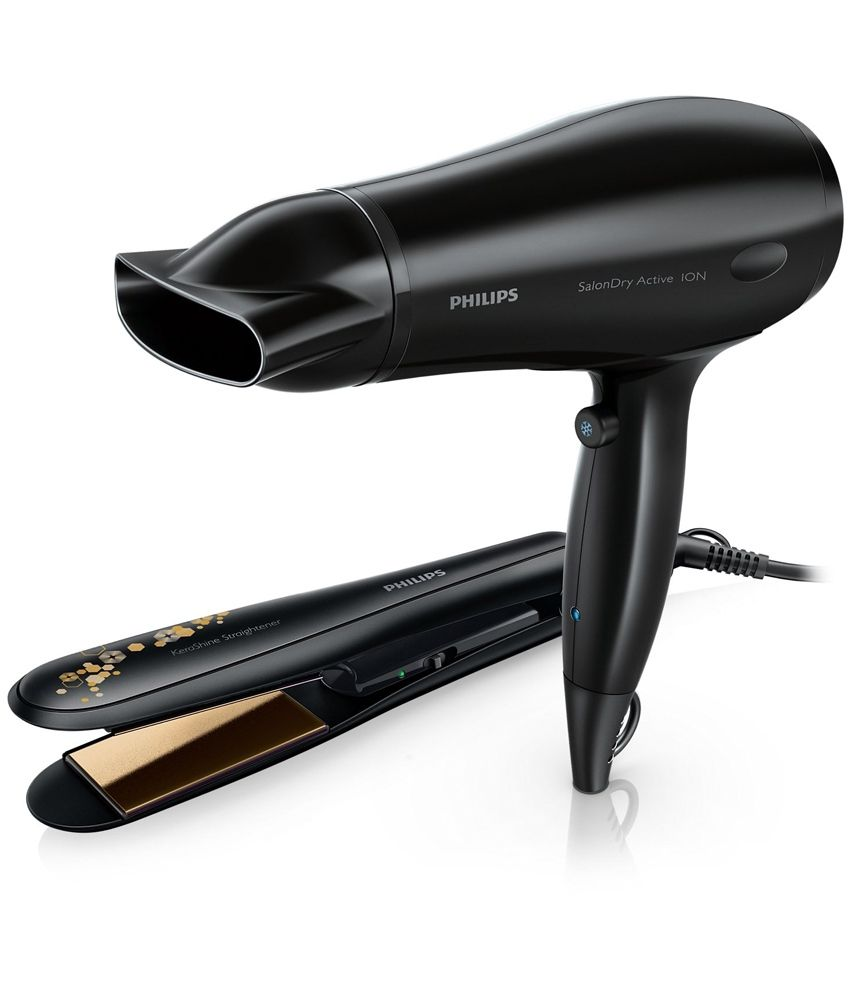 Philips Hp8646 Hair Straightener Hair Dryer Black This Hair Dryer By Philips Is Highly Efficient It Generate Hair Dryer Hair Straightener Hair Straightner