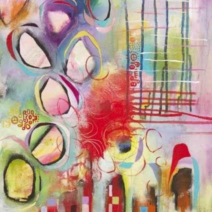 Colorful inspiring art - climbing