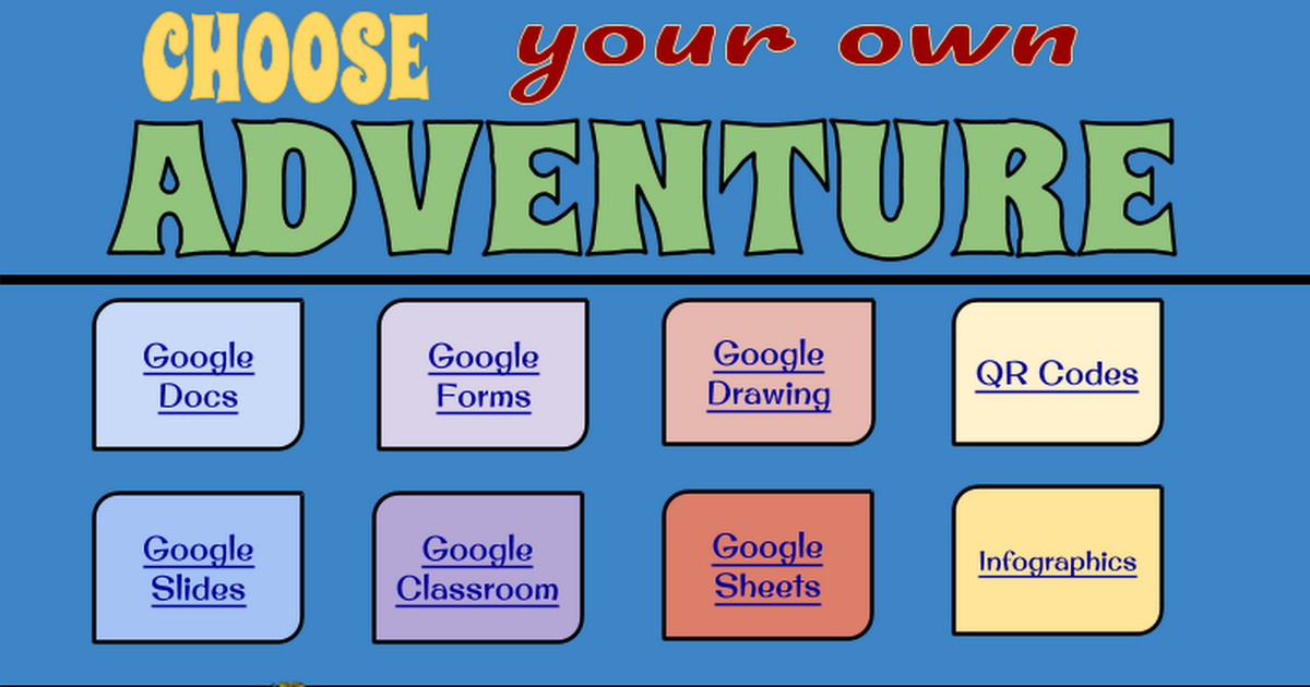 google docs google forms google drawing qr codes earn your badges