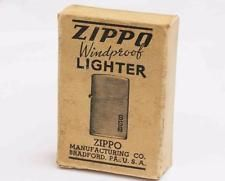 1940s Vintage Zippo Box Near Mint Condition Original Zippo Zippo Lighter Light My Fire