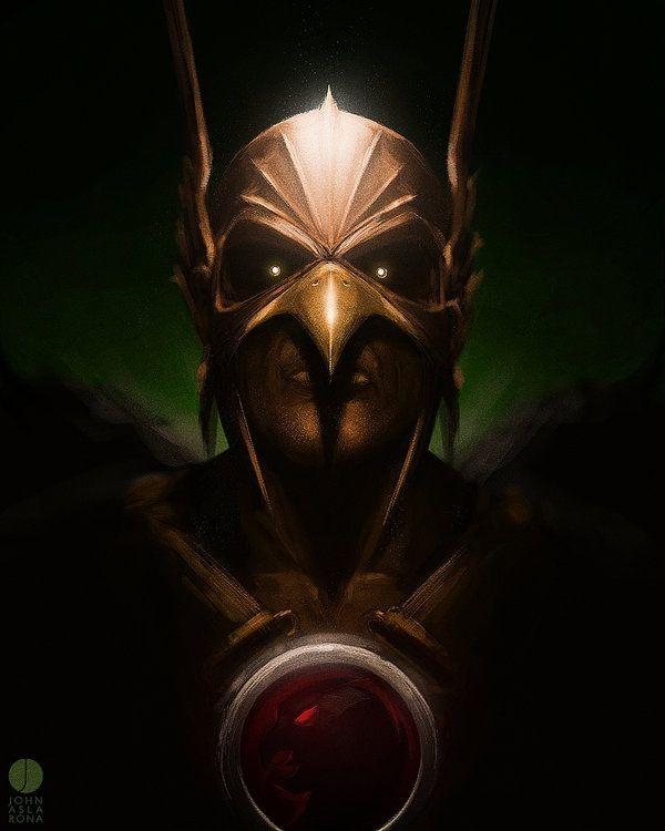 Hawkman eu queria ver esse cara na liga da justiça. caso tivesse mesmo o filme.