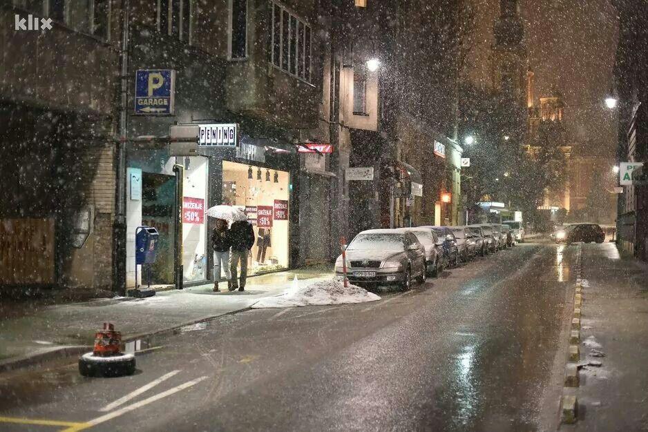 Sarajevo Winter Sarajevo Street View Towns