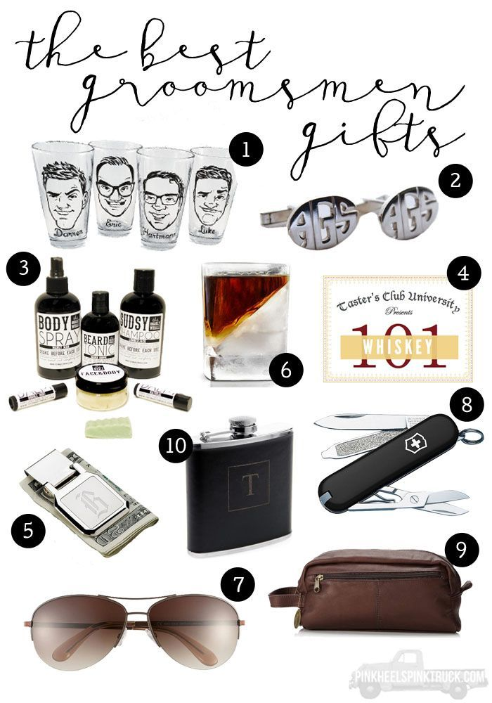 Not Sure What To Get Your Groomsmen I Ve Got The Best Gifts Ever In This Post A Gift For All Types From Adventure Seeker
