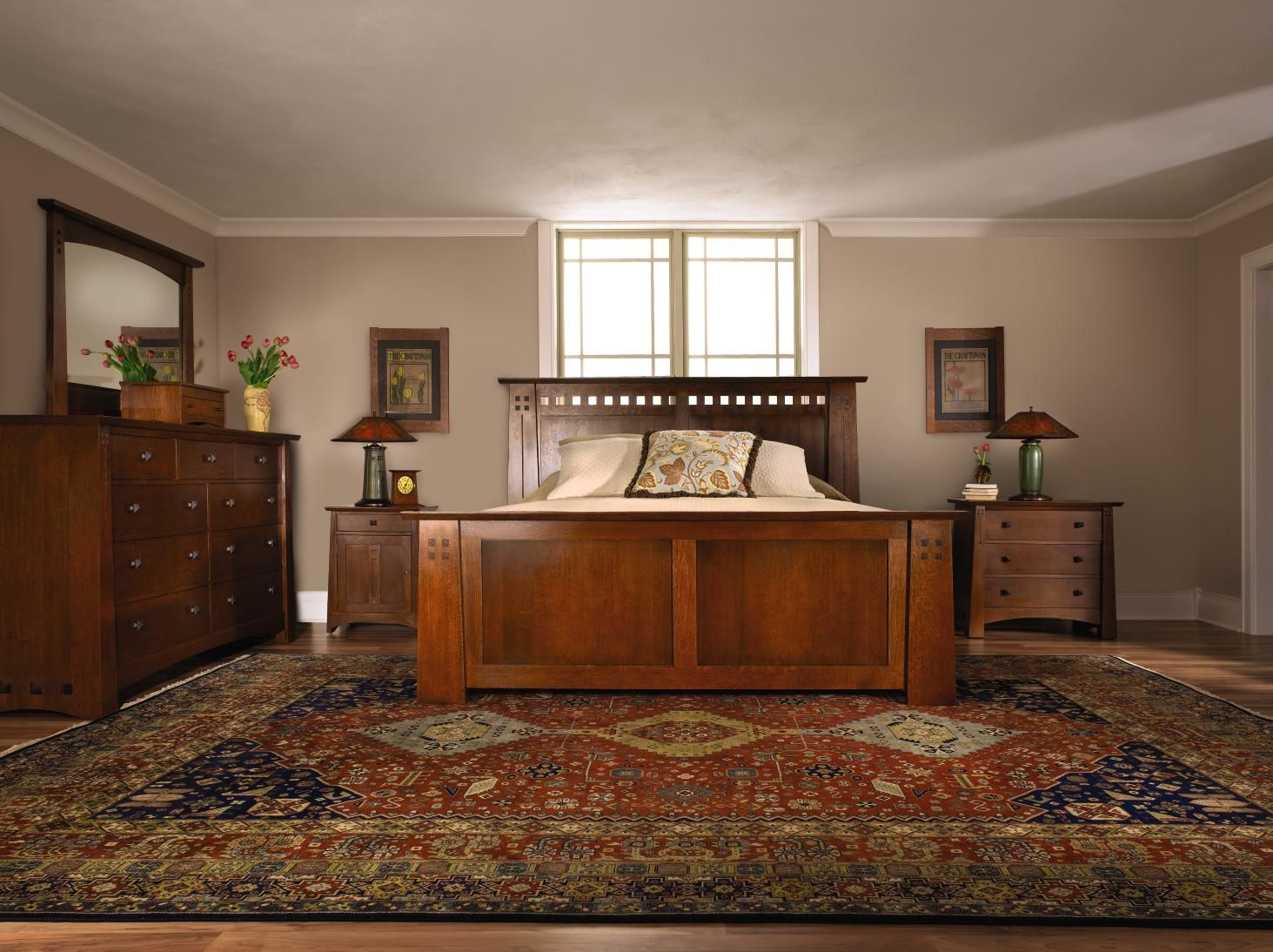 Arts and crafts style bedroom furniture - Stickley Highlands Bed A Seamless Union Of Classic Stickley Arts Crafts Style With A Modern Craftsman Furniturebedroom