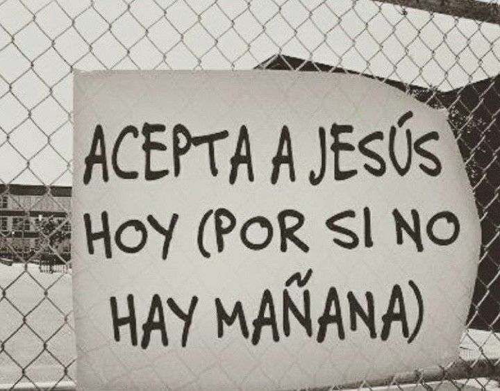 Acepta a jesus