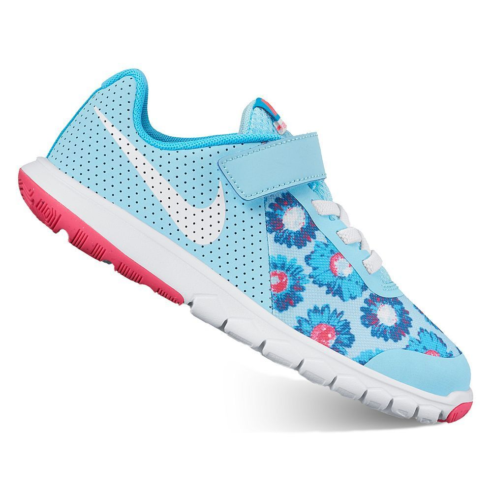 b872cbfe9651 Nike Flex Experience 5 Print Preschool Girls  Shoes