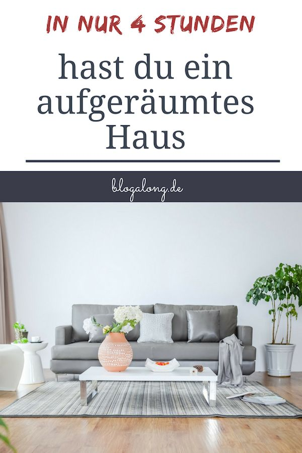 gewusst wie so schnell kannst du dein haus aufr umen putzen pinterest cleaning hacks. Black Bedroom Furniture Sets. Home Design Ideas