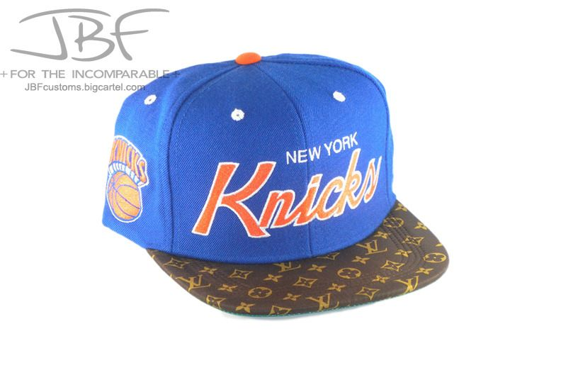 Image of Louis Vuitton Knicks Strapback hat
