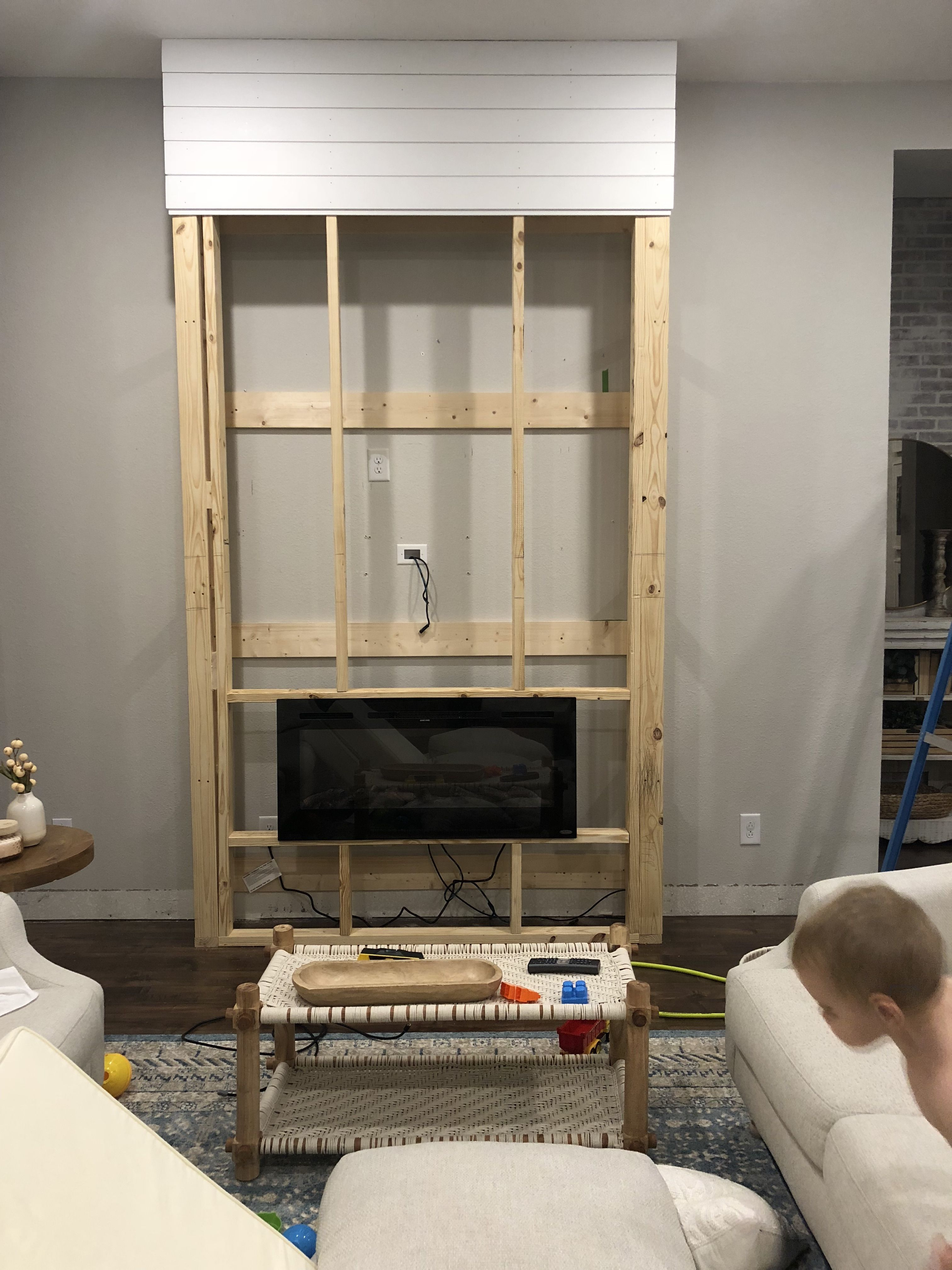 Installing A Fireplace Our New Samsung Frame Tv With Images