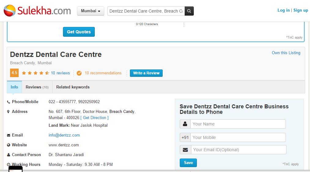 Pin by  Pushpa   on Dentzz Dental | Dental care, Dental, Clinic