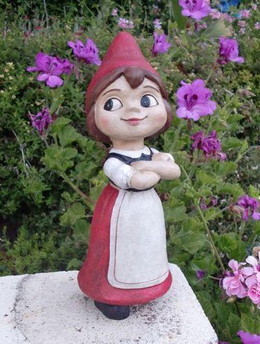 Juliet Gnome Garden Statue Gnome Garden Garden Statues Female