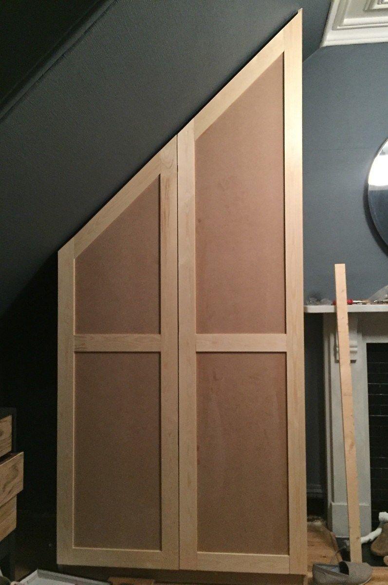 Hack Ikea Pax Wardrobe And Diy West Elm Bedside Tables Ikea Pax