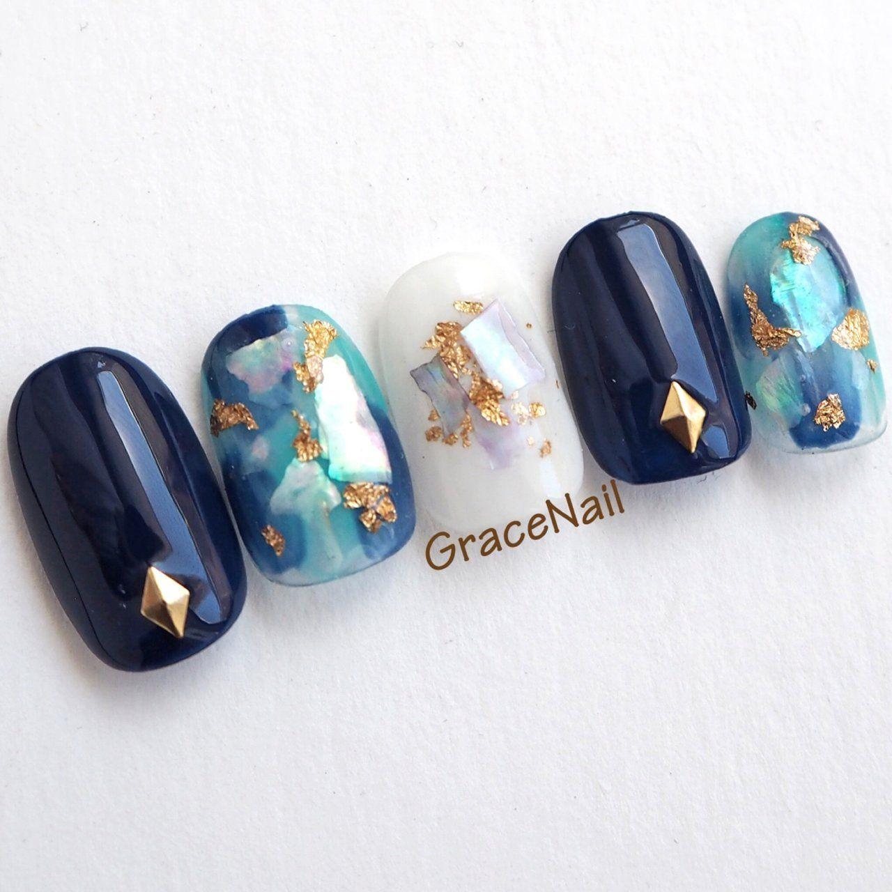 GraceNailのネイルデザイン[No 3459962]|ネイルブック #koreannailart