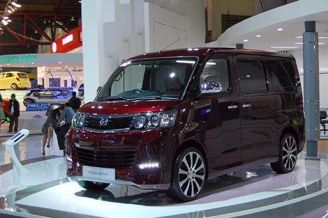 Daihatsu Luxio Tampil Mewah