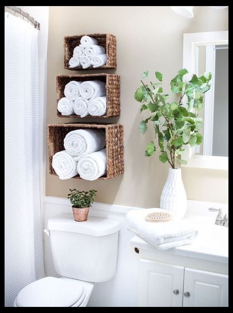 49 Clever Small Bathroom Decorating Ideas Small Apartment