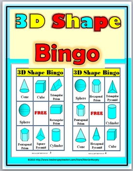 picture relating to Shape Bingo Printable called Bingo Printable - 3D Styles Bingo Sport Bingo Game titles for