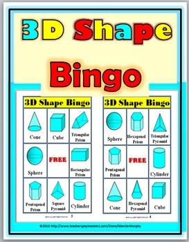 graphic regarding Shape Bingo Printable referred to as Bingo Printable - 3D Styles Bingo Sport Bingo Video games for
