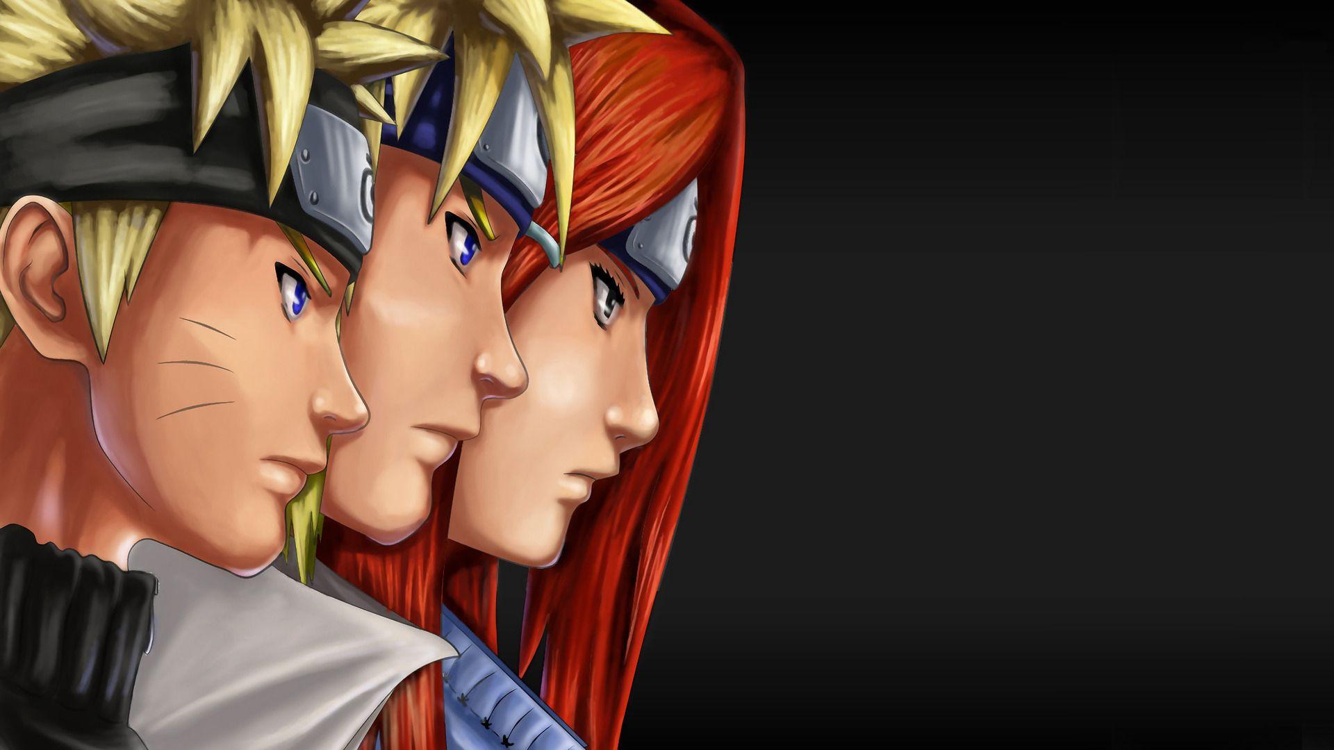Naruto's Family Anime Wallpaper