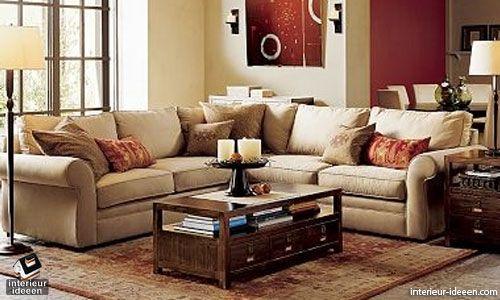 Woonkamer Ideeen Bruin : Bruin en rode woonkamer? huis in 2018 interieur woonkamer